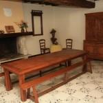 Gite de la Métairie - Votre mariage en Sarthe - La salle à manger